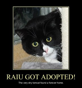 RAIU GOT ADOPTED!