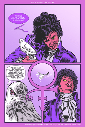 So This is What it Sounds Like When Doves Cry
