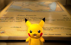 Pokémon Set a New World Record for the Largest Mosaic Made of Trading Cards