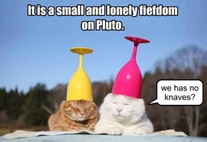 Pluto is lacking much!