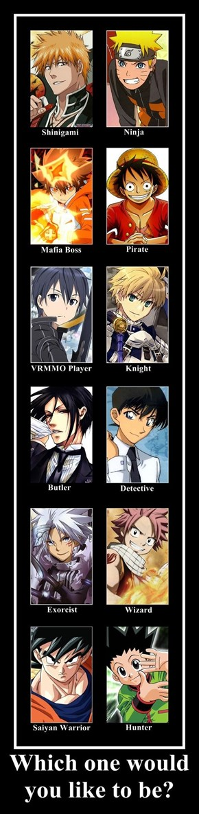 What Kind of Protagonist Would You Want to Be?