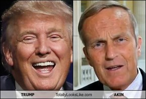 TRUMP Totally Looks Like AKIN