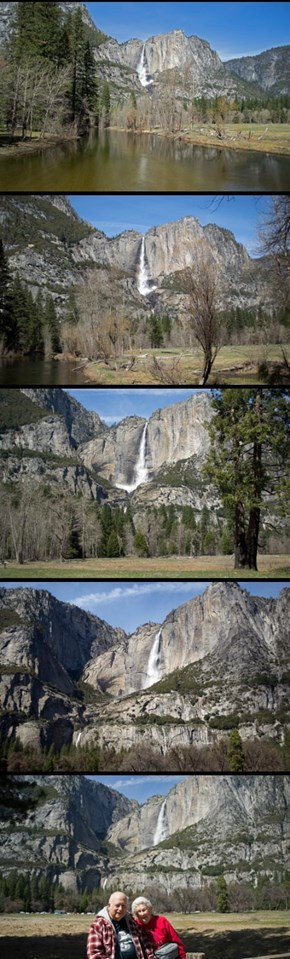 Yosemite Falls Medley March 2016