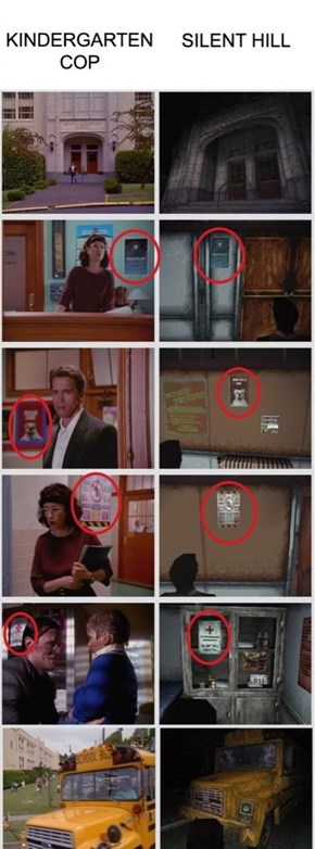 The Parallels Between Silent Hill And Kindergarten Cop Are Uncanny