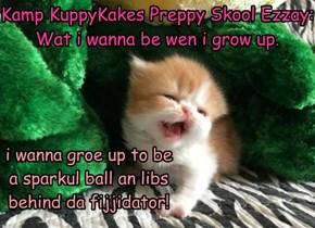 KuppyKakes Preppy Skool Ezzay.