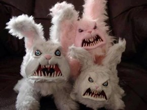 "These ""Adorable"" Easter Bunnies Will Haunt Your Dreams"
