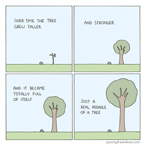 If Ego Tree Fell in a Forest, People Would Applaud