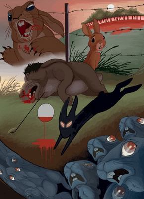 Someone Thought It'd Be a Good Idea to Broadcast 'Watership Down' on Easter