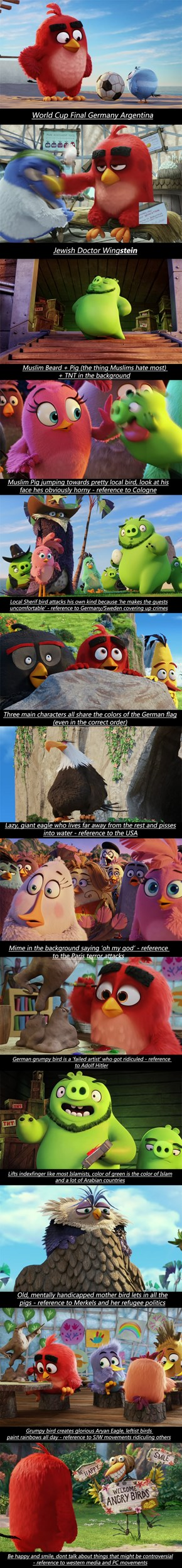 Angry Birds Movie Gives Some Insight Into Some Political Events