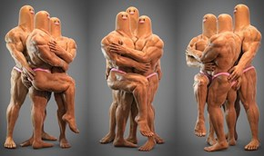 Apparently Dugtrio's A Muscle Milk Guzzling World Class Bodybuilder Now
