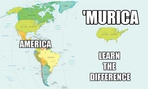 America - 'Murica, Know the difference