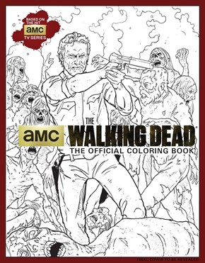 You Can Now Color in All Your Favorite Walking Dead Characters