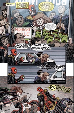 Deadpool is a Hufflepuff