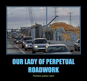 OUR LADY OF PERPETUAL ROADWORK
