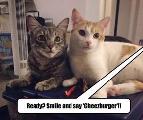 Ready? Smile and say 'Cheezburger'!!