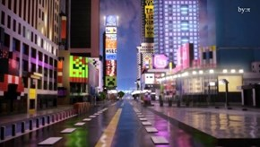 Minecraft User Composes Masterpiece Map Remake of Times Square