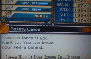 When You're Too Scared to Use a Normal Lance
