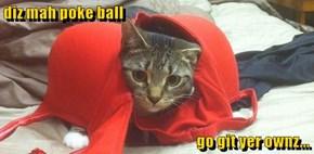 diz mah poke ball                                                                    go git yer ownz...