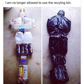 It Just Makes It Easier to Put Everything in One Bag Before Throwing it Out
