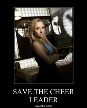 SAVE THE CHEER LEADER