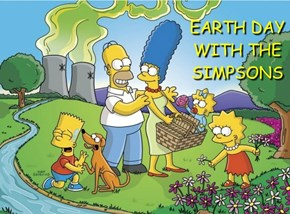 EARTH DAY WITH THE SIMPSONS