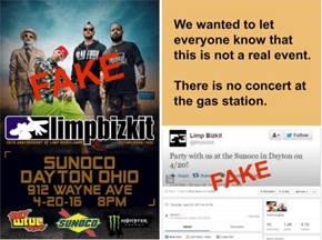 A Prankster Made Dayton, Ohio Believe Limp Bizkit Was Coming to a Local Gas Station for a Concert
