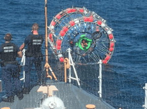 Florida Man Trying to Run to Bermuda in a Bubble Was Rescued by the Coast Guard (Again)