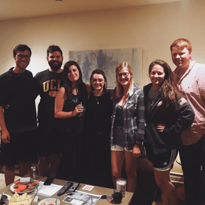 Maisie Williams Crashed a 'Game of Thrones' Viewing Party at UCLA