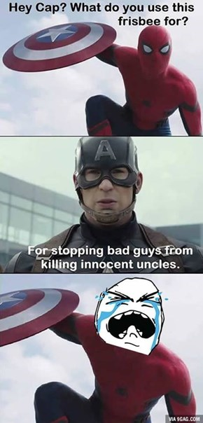 Captain America With That Savagery!