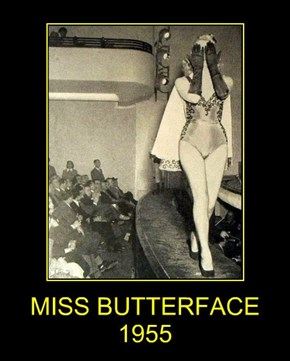 MISS BUTTERFACE 1955