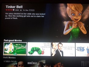 Whoa, Tinkerbell, Calm Down Before You Do Something That Can't Be Undone