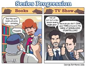 Game of Thrones: Books vs. TV Show