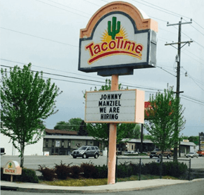 Fast Food Joint Taco Time Is Trolling Johnny Manziel