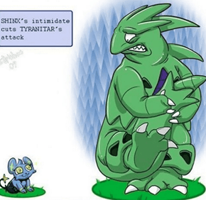 We're With You Tyranitar, Dem Eyes Are Terrifying!