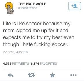 Life is Like Children's Soccer