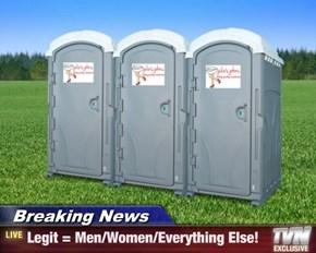 Breaking News - Legit = Men/Women/Everything Else!