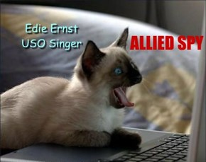 Edie Ernst USO Singer