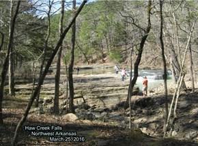 Haw Creek Falls                Northwest Arkansas                                   March 25, 2016