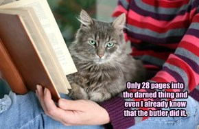 342 More Pages And She Will Still Think It Was The Cook.