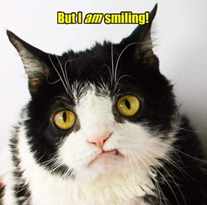 Give us a nice smile, Eddie!