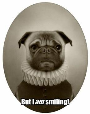 Give us a smile, Sir Wilburforce!