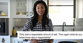 Ayesha Curry's New Cooking Show Sparked a Meme That Adds a Little Judgement to Her Hot Cooking Tips