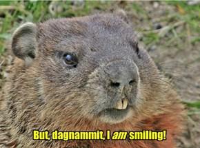 Smile for the camera, Dumplin!