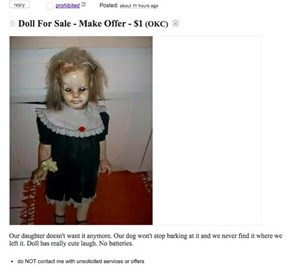 This Is One of the Reasons They Say Craigslist Is Dangerous