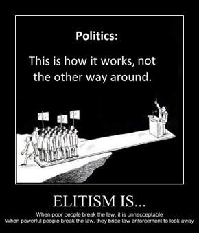 ELITISM IS...