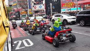 When You Gotta Commute to Work, but Still Log That Mario Kart Practice Lap