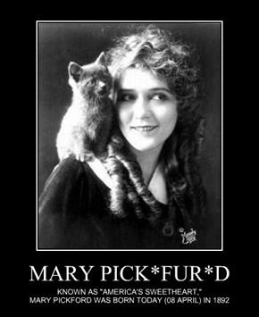 MARY PICK*FUR*D