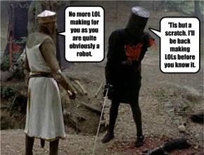 The Black Robot, er, Knight