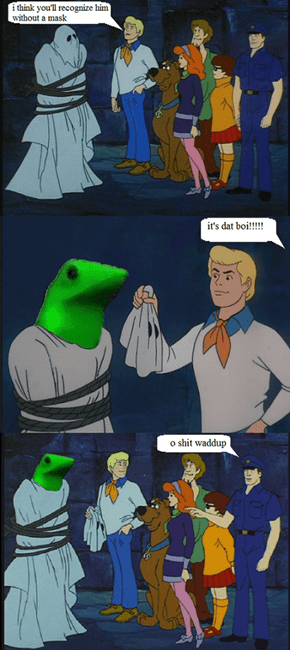 And He Would Have Gotten Away With It, Too