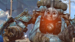 The Internet Dove Deep Down the Rabbit's Hole, and Returned With Nightmarish Thomas the Tank Engine Fallout 4 Robots